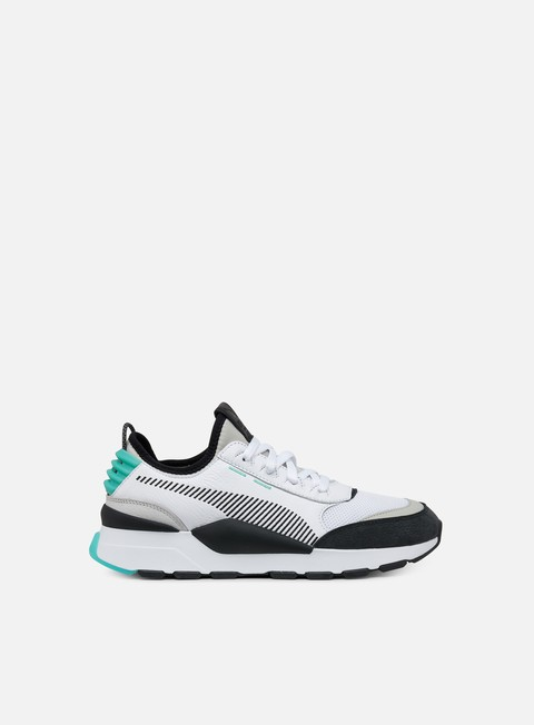 sneakers puma rs 0 re invention white grey violet biscay green