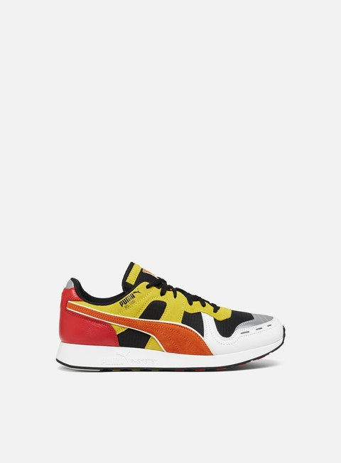 sneakers puma rs 100 x roland black puma white orange