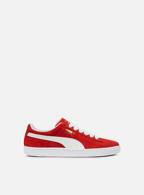 sneakers puma suede classic b boy fabulous flame scarlet puma white