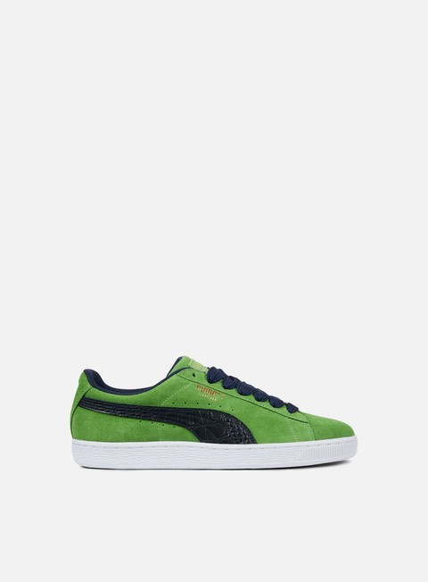 sneakers puma suede classic b boy fabulous forest green peacoat