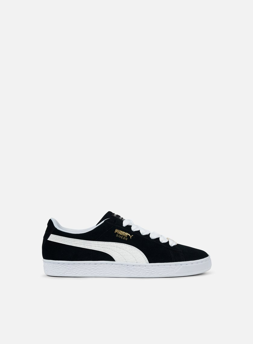 Puma Shoes Black And White Sale