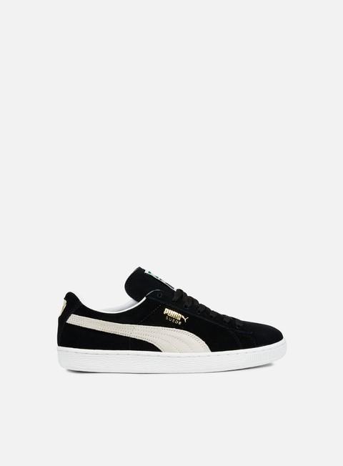 sneakers puma suede classic black white