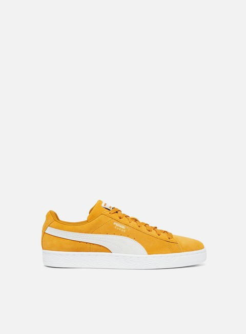 sneakers puma suede classic buckthorn brown white white