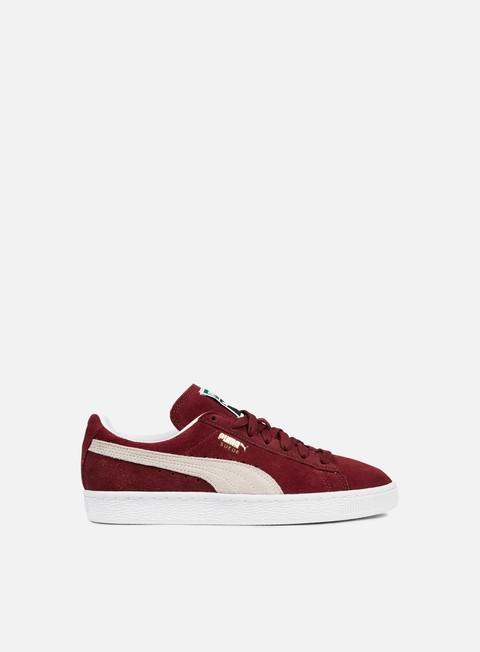 sneakers puma suede classic cabernet white