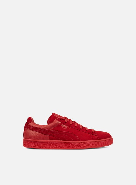 sneakers puma suede classic casual emboss barbados cherry