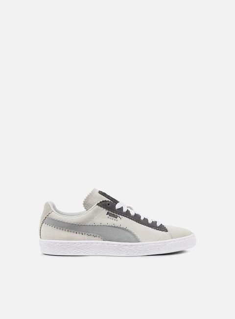 sneakers puma suede classic michael lau puma white steel grey