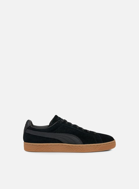 sneakers puma suede classic natural warmth black black
