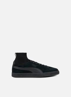 Puma - Suede Classic Sock, Puma Black/Puma Black
