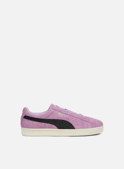 sneakers puma suede diamond orchid bloom puma black