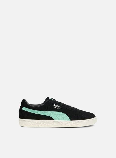 sneakers puma suede diamond puma black diamond blue