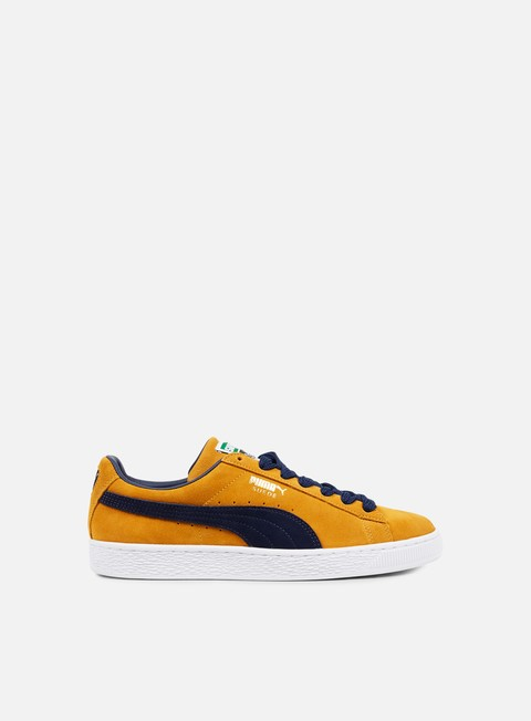 sneakers puma suede super inca gold peacoat