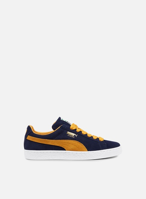 sneakers puma suede super peacoat inca gold