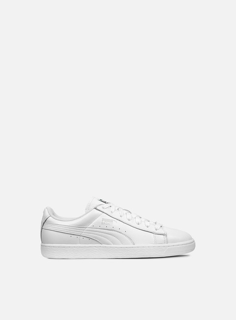sneakers puma trapstar basket white puma white glacier grey