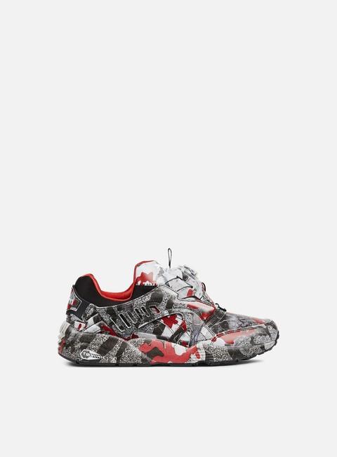 sneakers puma trapstar disc blaze camo puma black puma white barbados cherry