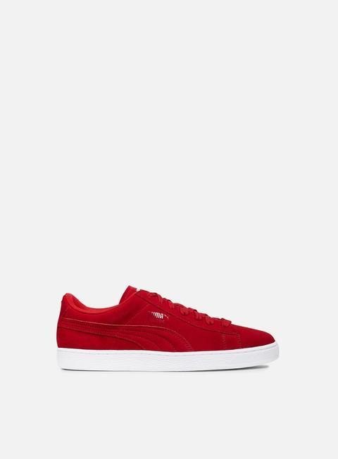 sneakers puma trapstar suede barbados cherry puma white