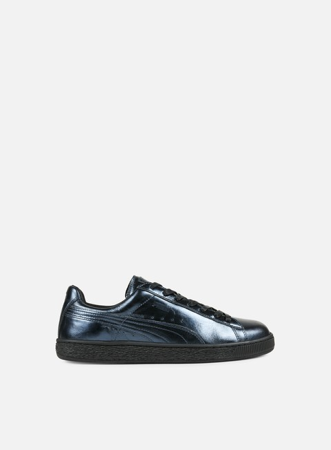 sneakers puma wmns basket creepers metallic indigo indigo black