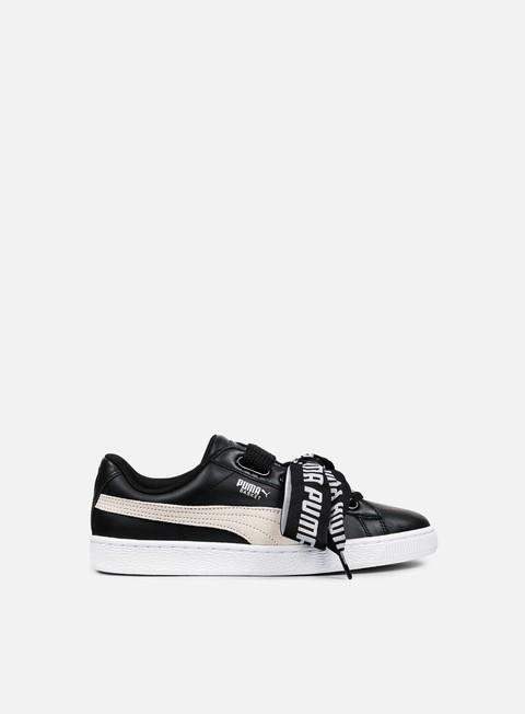 Sale Outlet Low Sneakers Puma WMNS Basket Heart DE
