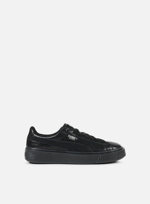 sneakers puma wmns basket platform ns puma black puma black