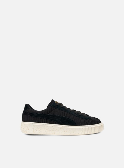 sneakers puma wmns basket platform ow puma black puma black whisper white