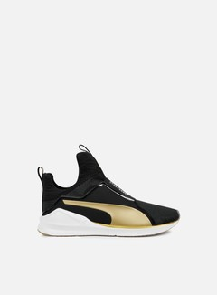 Puma - WMNS Fierce Gold, Puma Black/Gold 1