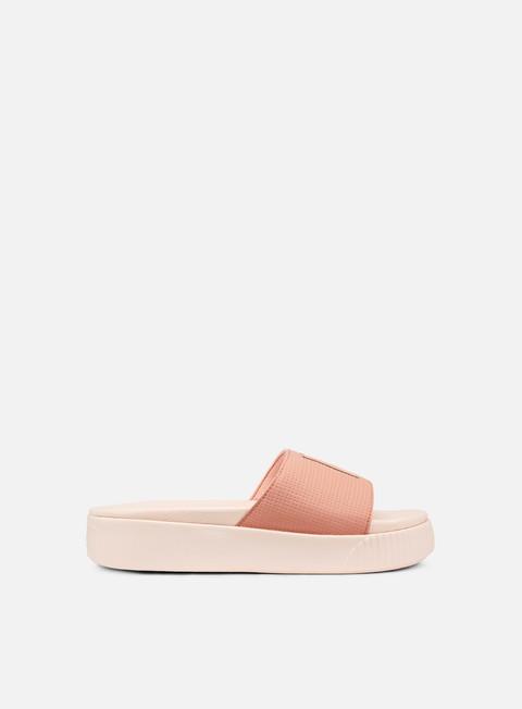 sneakers puma wmns platform slide ep peach beige pearl