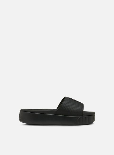 sneakers puma wmns platform slide ep puma black