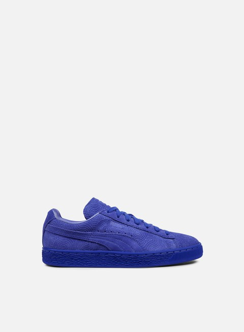 sneakers puma wmns suede classic colored dazzling blue dazzling blue