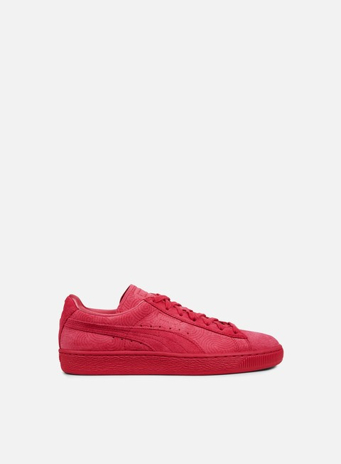 sneakers puma wmns suede classic colored rose red rose red