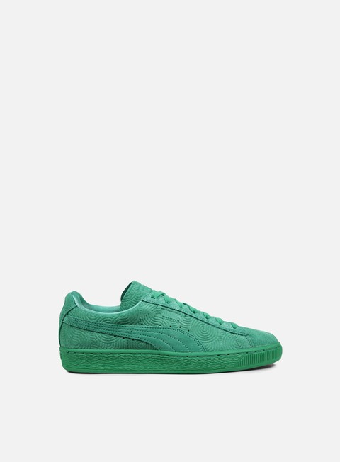 sneakers puma wmns suede classic colored simply green simply green