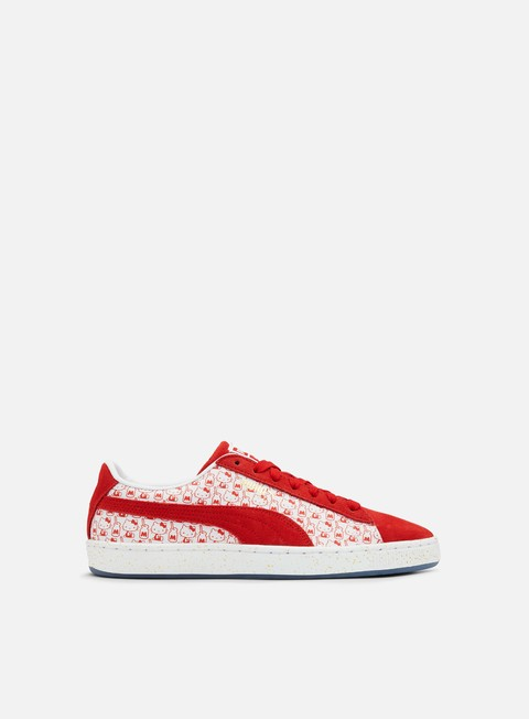 sneakers puma wmns suede classic hello kitty bright red bright red