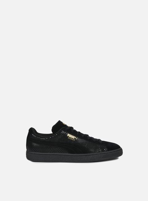 sneakers puma wmns suede gold puma black