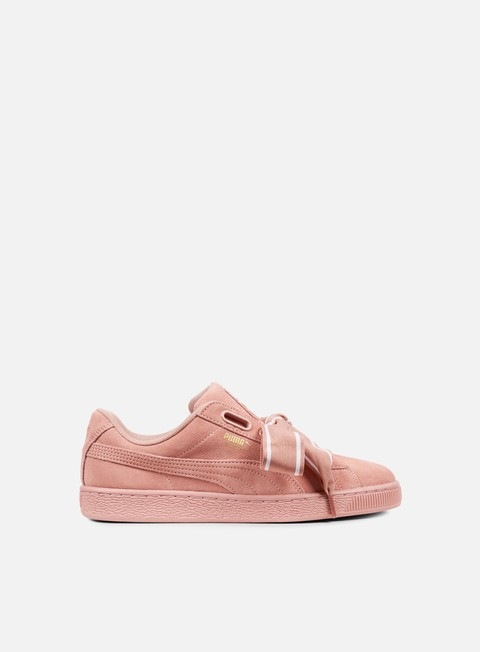 sneakers puma wmns suede heart satin ii cameo brown cameo brown