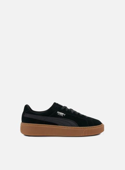sneakers puma wmns suede platform animal puma black silver