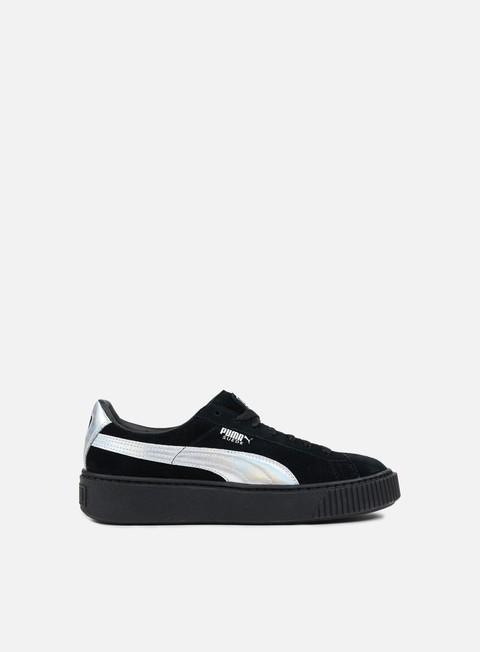 sneakers puma wmns suede platform explosive puma black puma black