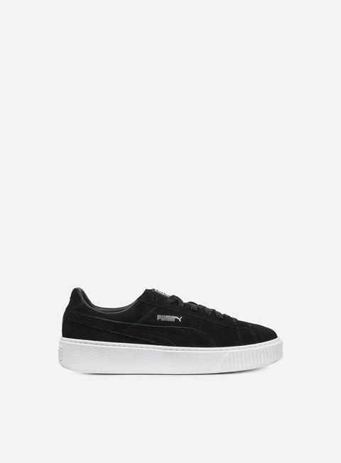 sneakers puma wmns suede platform puma black black puma white