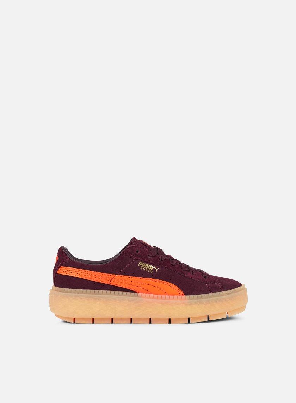 fc4632c057a PUMA WMNS Suede Platform Trace Block € 55 Low Sneakers
