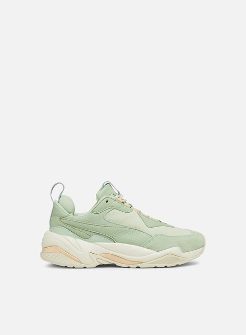 sneakers puma wmns thunder desert smoke green silver green