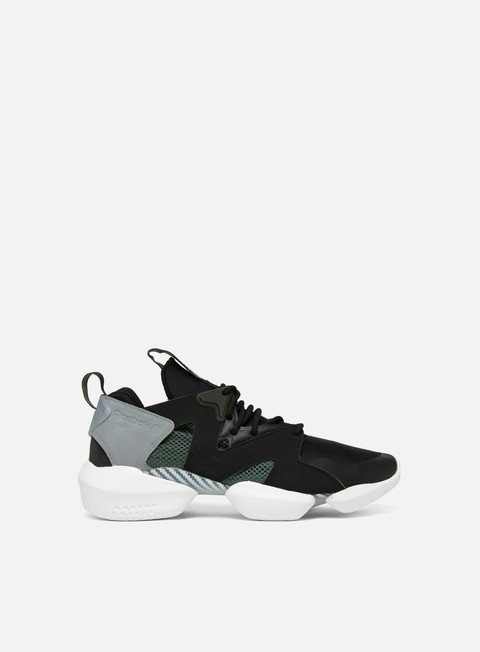 sneakers reebok 3d op lite black chalk green grey