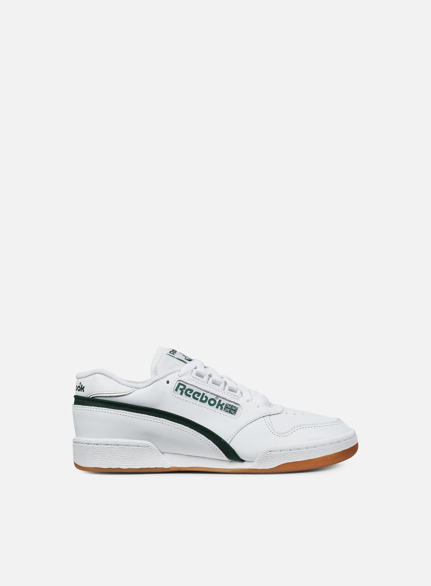 Reebok - Act 600 85 CP, White/Dark Green/Gum