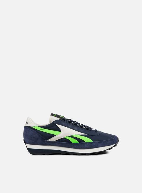 sneakers reebok aztec og navy classic white green