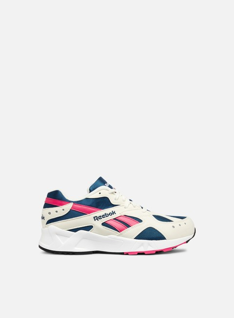 sneakers reebok aztrek chalk royal rose white