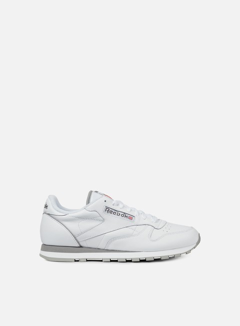 sneakers reebok classic leather archive white carbon red