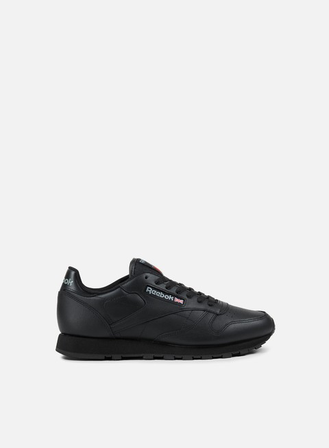sneakers reebok classic leather black