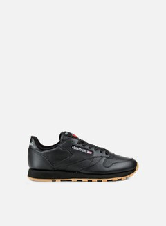Reebok - Classic Leather, Black/Gum