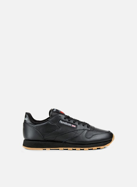 sneakers reebok classic leather black gum