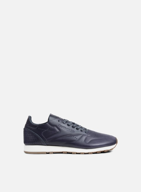 sneakers reebok classic leather clean du lead blue chalk