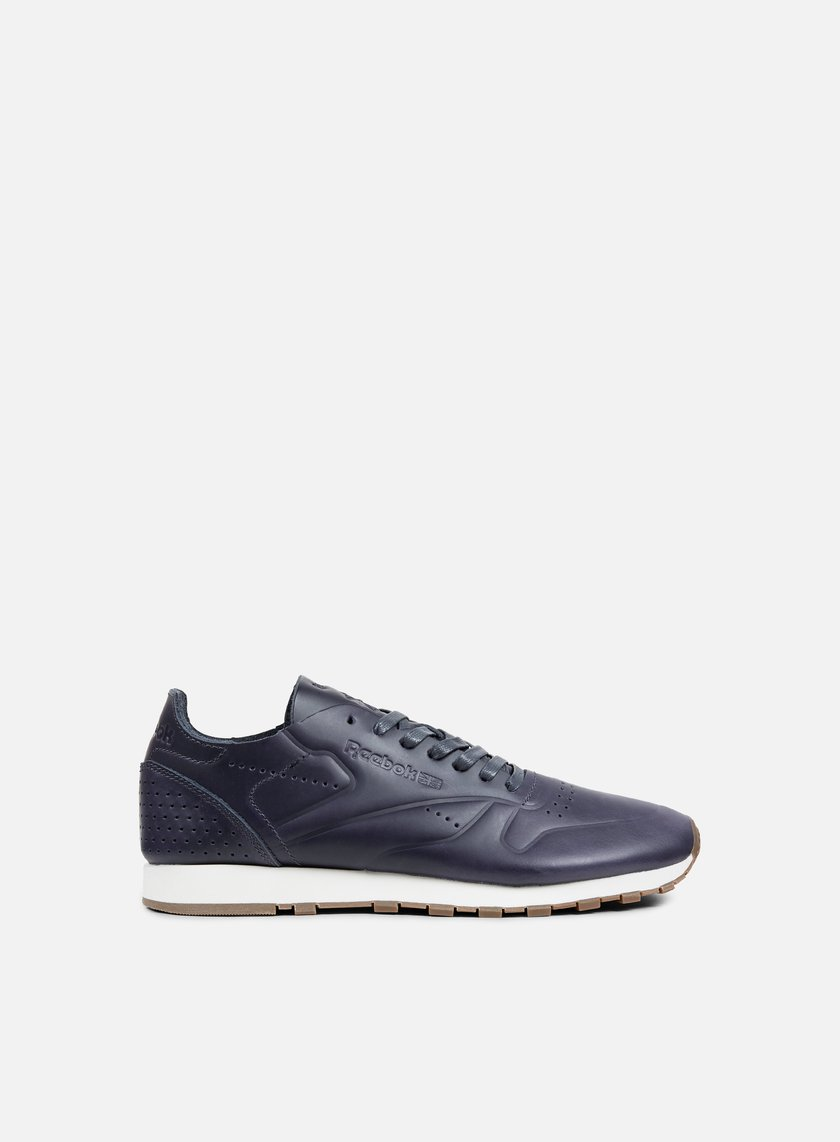 Reebok - Classic Leather Clean DU, Lead Blue/Chalk