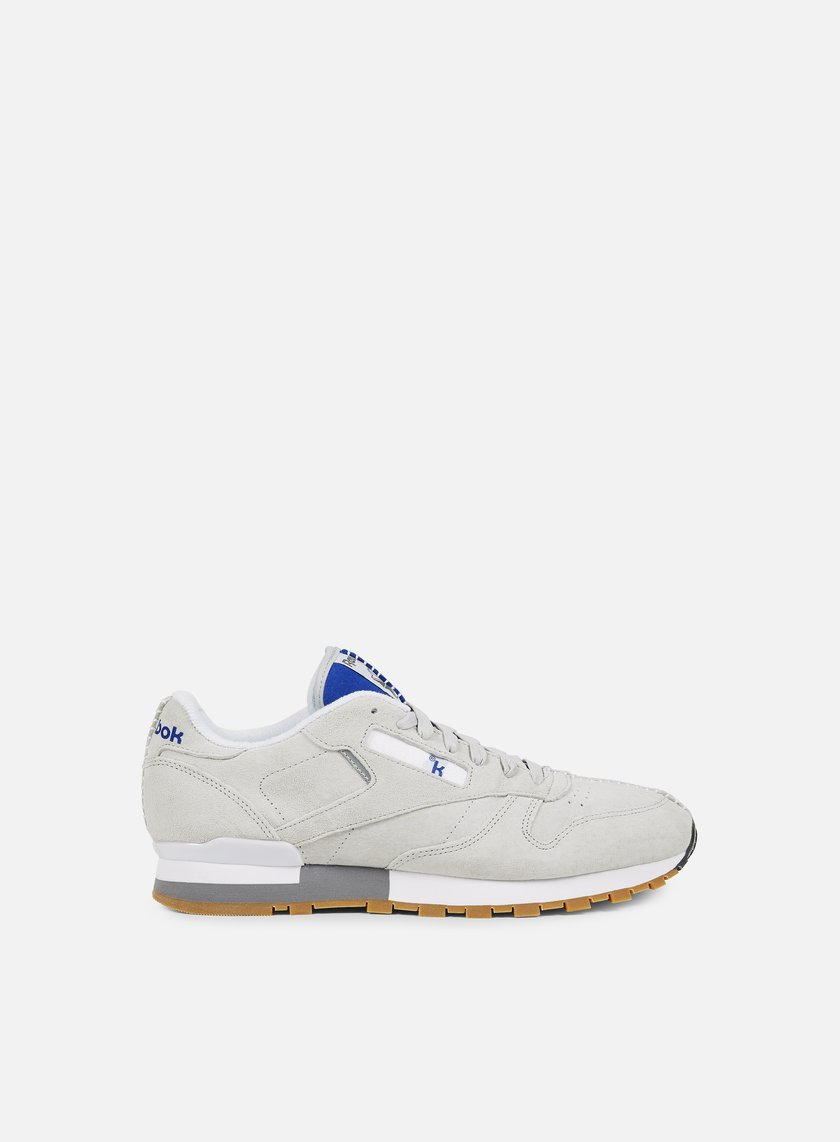 Reebok - Classic Leather Kendrick Lamar, Skull Grey/Royal/Red
