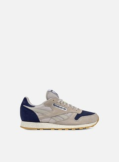 Reebok - Classic Leather SM Speckle, Sand Stone/Blue Ink 1