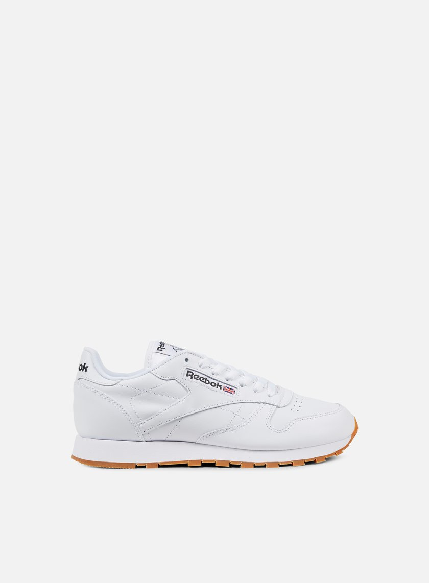 Reebok - Classic Leather, White/Gum